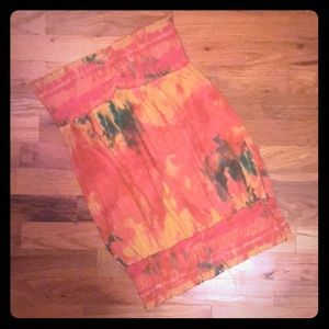Mudd Tropical Tube Top. Size-Large